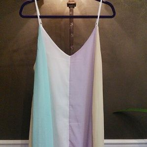 Gorgeous light and airy mini dress/ cover-up